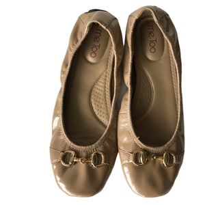 Me Too Limbo Gold Ballet Flat Size 9.5